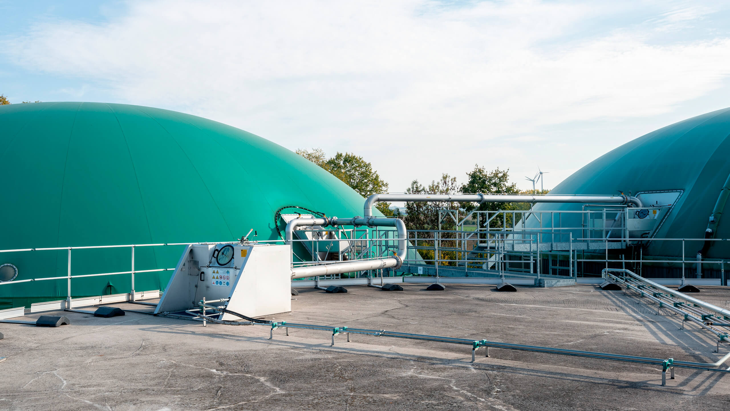 Repowering of biogas plants