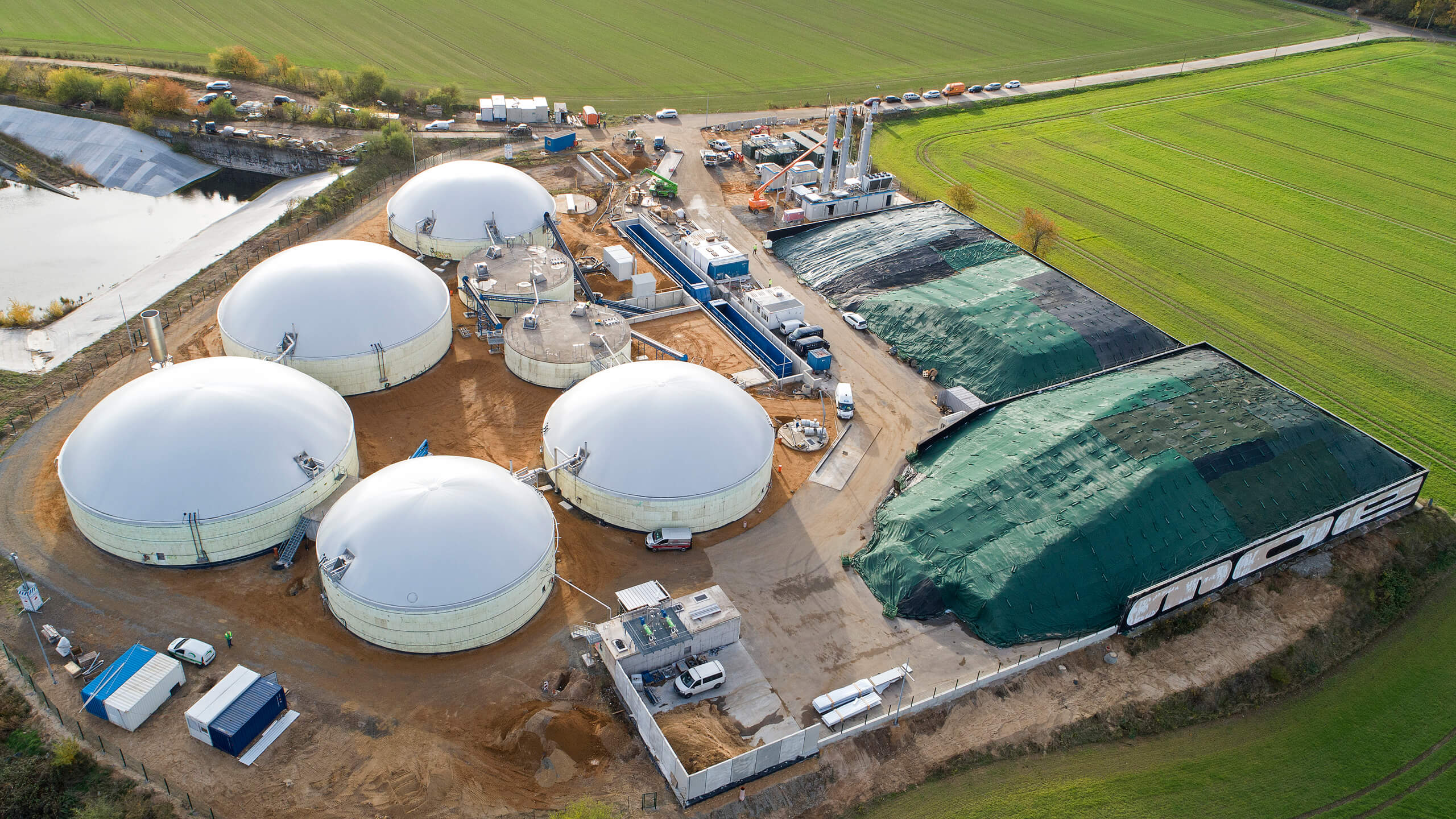 Biomethane Plant Gordemitz